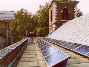 Click here for details of the St James Piccadilly Photo Voltaic Project.